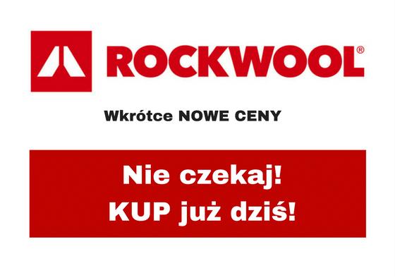 Zmiana cennika ROCKWOOL