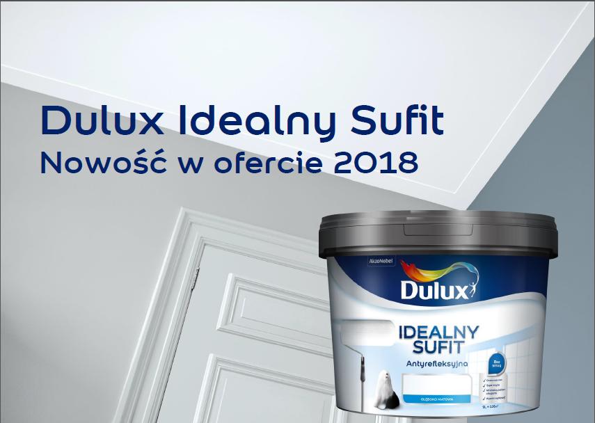 Dulux Idealny Sufit- Nowość Akzo Nobel