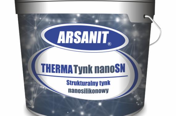 NOWOŚĆ tynk nanosilikonowy ARSANIT